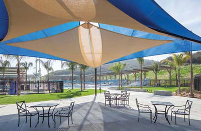 Looking to build low maintenance shade structures call for Metal sun shade structures